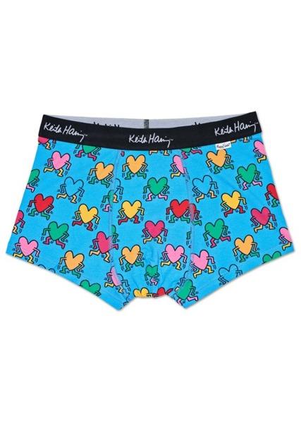 Bielizna męska Happy Socks x Keith Haring (2-pak) Trunk XKEH96-2000