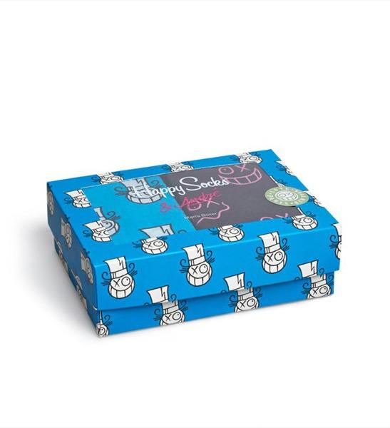 Box bielizna męska Happy Socks x Mr A XASTH80-6000