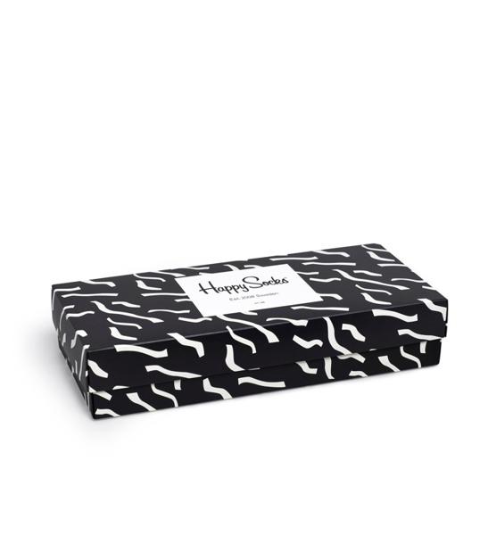 Giftbox (4-pak) skarpetki Happy Socks XBLW09-9001