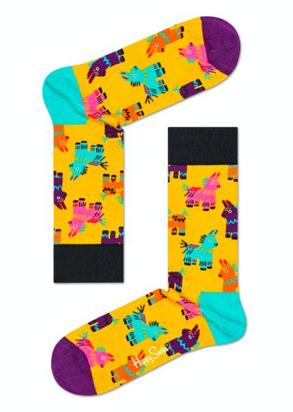 Grający Giftbox urodzinowy (3-pak) Happy Socks XBDA08-9000