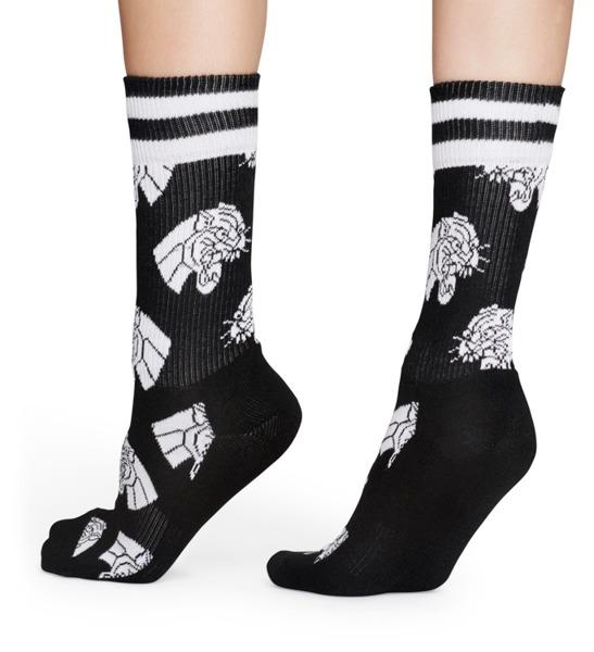 Skarpetki ATHLETIC Happy Socks ATJAG27-9000