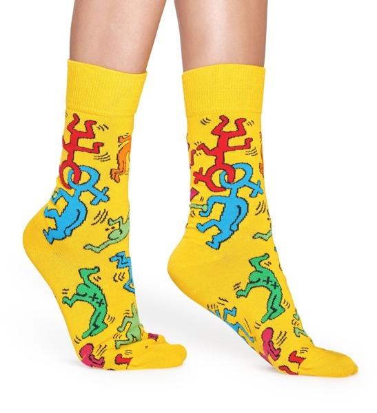 Skarpetki Happy Socks x Keith Haring KEH01-2000