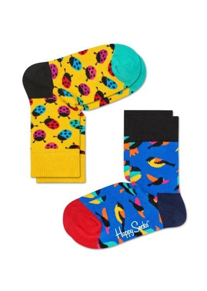 Skarpetki dziecięce (2-pak) Happy Socks KLAB02-2000