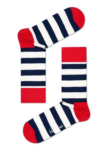 Zestaw skarpetek Happy Socks 4-pak Classic Navy XBDO09-6000